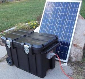 Solar Generator : Be Prepared 5000