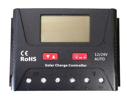 How does a solar generator work - charge controller
