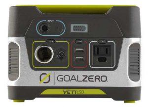 Portable Solar Generator Goal Zero Yeti 150