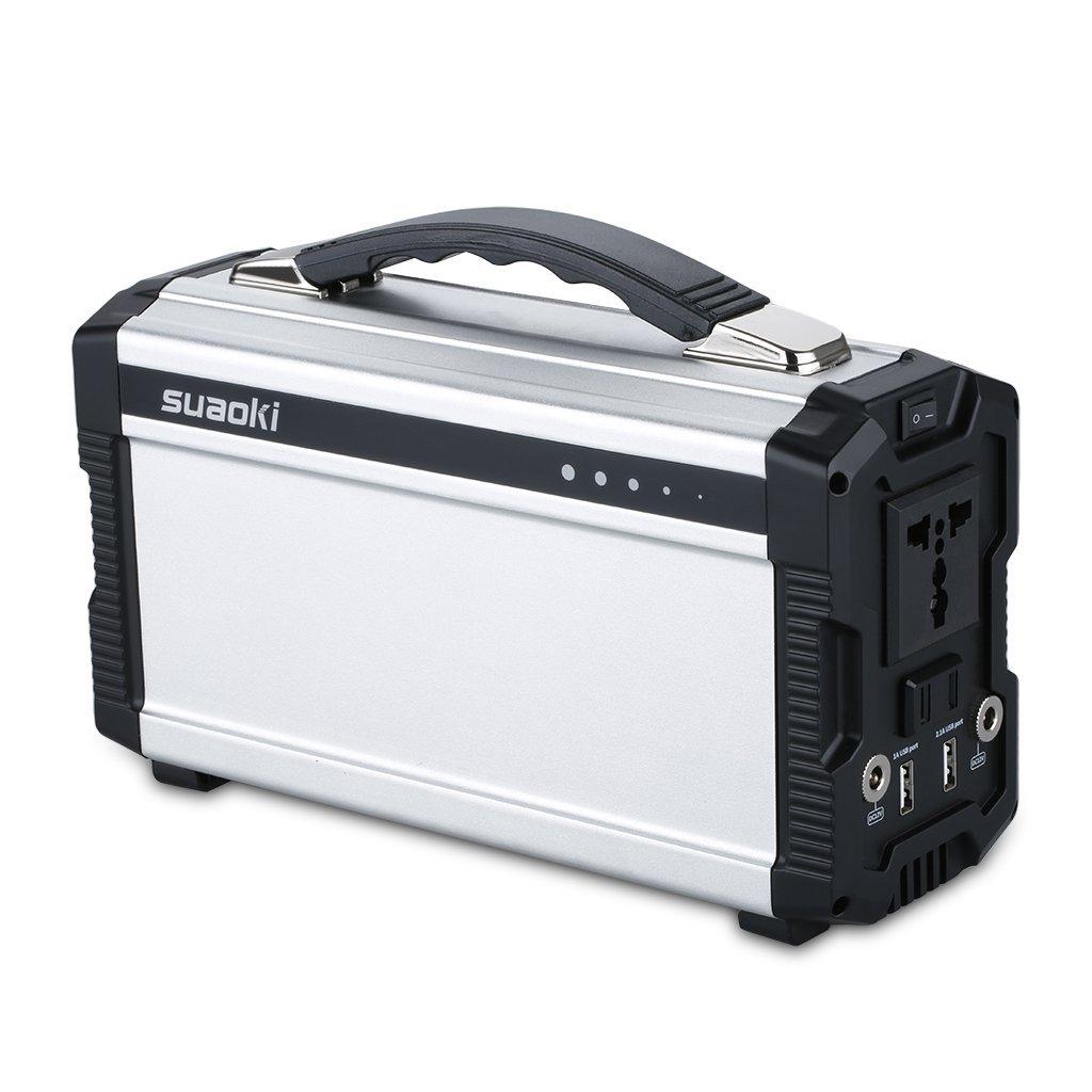 Solar Generator - Suaoki 220Wh Portable Solar Generator battery