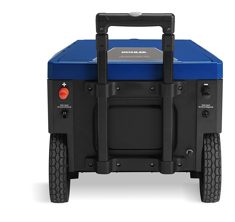 Solar Generator - Kohler enCUBE 1.8 Rechargeable Power Supply - outputs