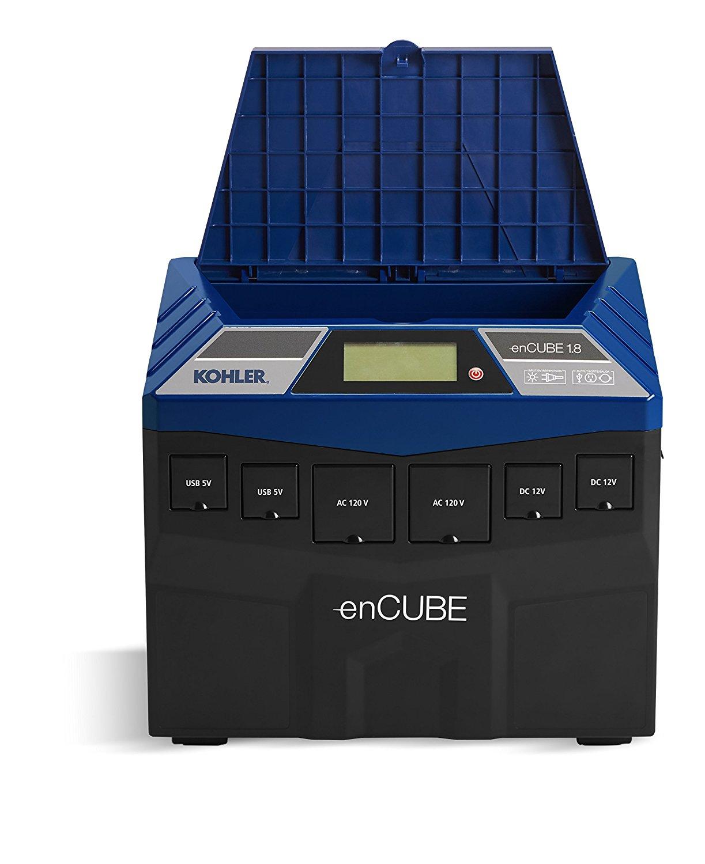 Solar Generator - Kohler enCUBE 1.8 Rechargeable Power Supply - Heavy Duty Solar Generator