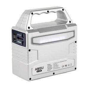 Amsu 100W Portable Solar Generator