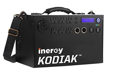 Inergy Kodiak solar generators