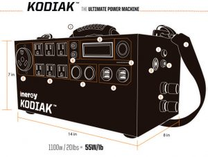 Inergy Kodiak Solar Generators Front
