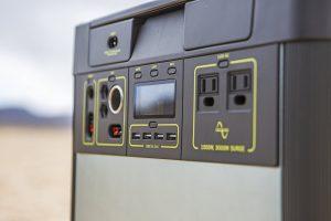 Goal Zero Lithium 3000 Portable Solar Generator outputs