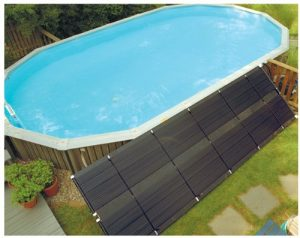 solar pool spa water heater