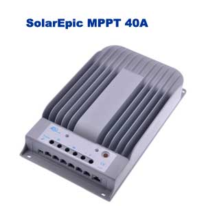 SolarEpic MPPT 40A Solar Charger Controller