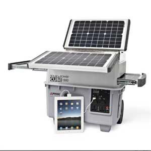 Wagan Ecube Heavy Duty Solar Generator
