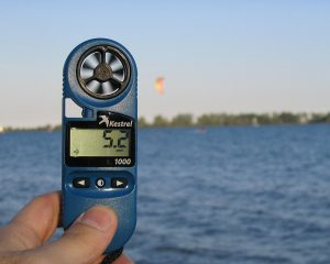 Wind Turbine Wind Speed Meter