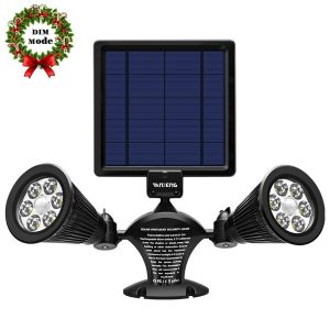 Solar Powered Motion Sensor Flood Lights