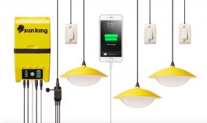 Indoor Solar Lights System