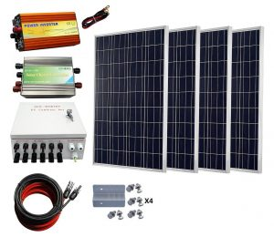 RV Solar Kit Eco Worthy 400