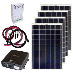 RV Solar Kit Grape Solar 400