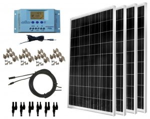 RV Solar Kit Windy Nation 400