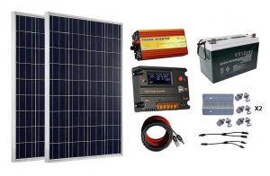 RV Solar Panel Kit Ecoworthy 200w
