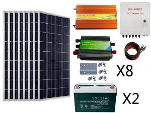 RV Solar Panel Kit Ecoworthy 800w
