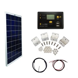 Small Solar Panel Kit Grape Solar 100w