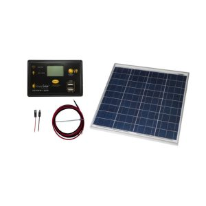 RV Solar Panel Kit Grape Solar 50w