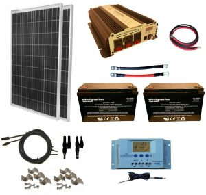 Home Solar Panel Kit Windy Nation 200w