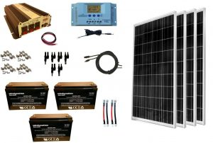 RV Solar Panel Kit Windy Nation 300w