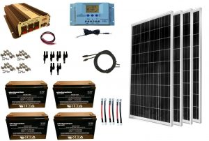 RV Solar Panel Kit Windy Nation 400w
