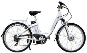 electric bike under 1000 step thru frame