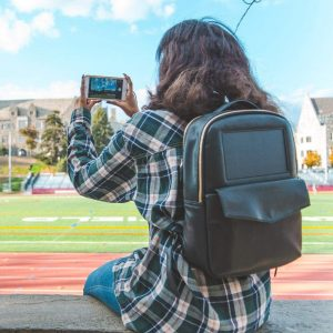 solar backpack birksun Mini