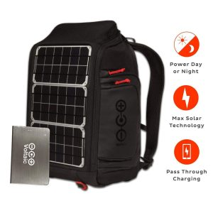 solar backpack voltaic battery pack