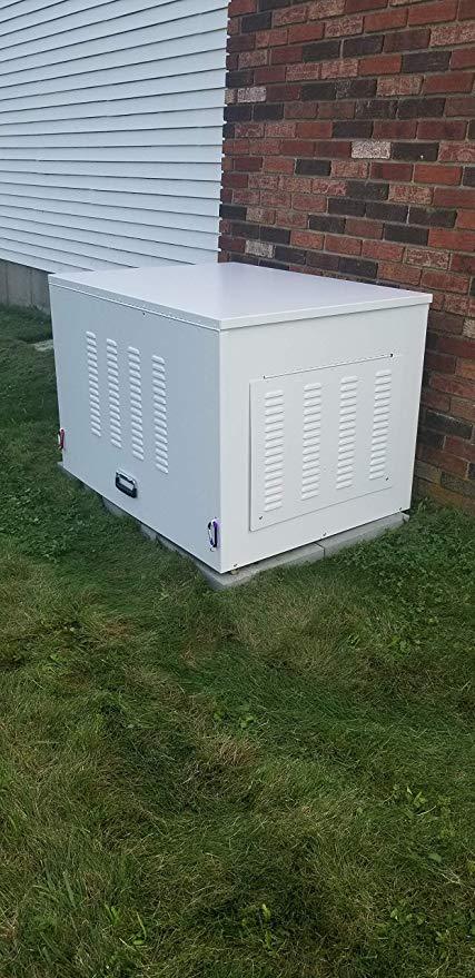 Portable Generator Enclosure closed
