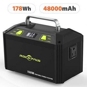 portable solar generator rockpals