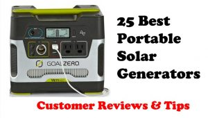 25 Best Portable Solar Generators