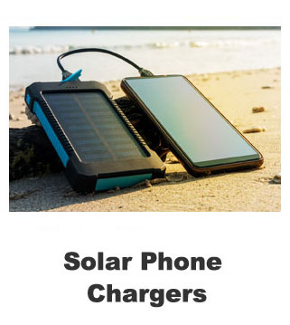 Solar Phone Chargers