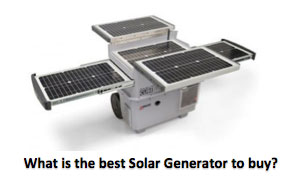 What is the best Solar Generator?