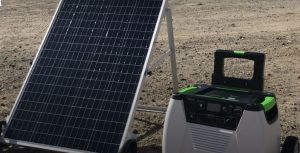 Solar Panel with Natures Generator