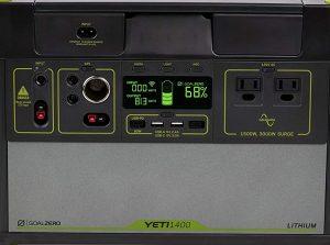 Yeti 1400 Lithium front