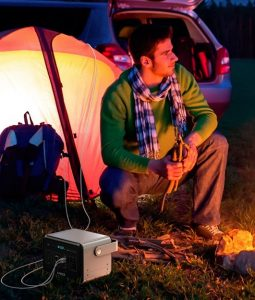 anker powerhouse 400 camping
