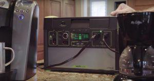 yeti 1400 lithium powering devices