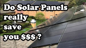 does solar save money