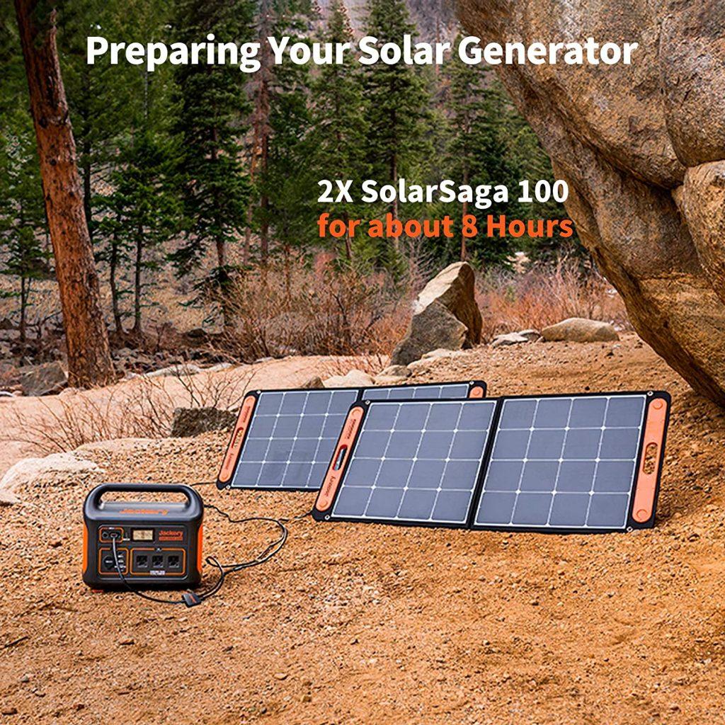 Jackery 1000 Solar Powered Generator