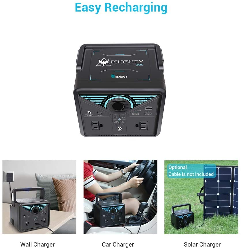 Renogy 200 Solar Powered Generator
