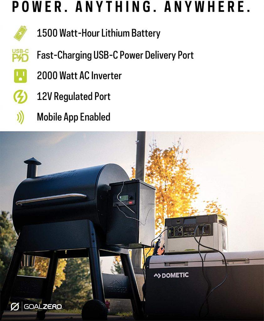 Yeti 1500x Heavy Duty Solar Generator